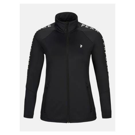 Mikina Peak Performance W Rider Zip Jacket - Černá