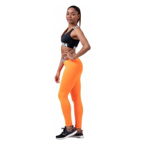 Nebbia Squad Hero Scrunch Butt legíny 528 oranžové
