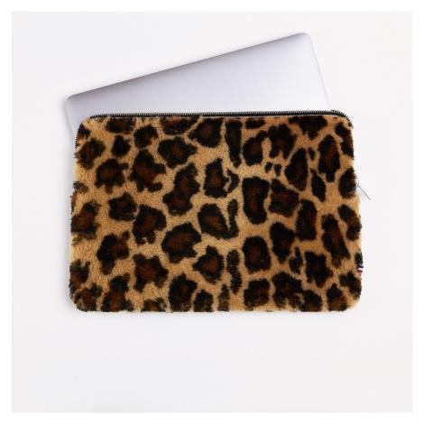 """Merino leopardí obal na laptop 13"""" TOASTIES"""