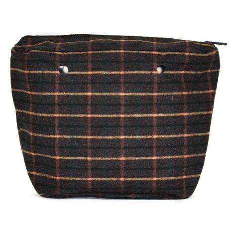 Obag vnitřní taška tartan verde O bag