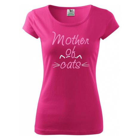 Mother of cats - Pure dámské triko