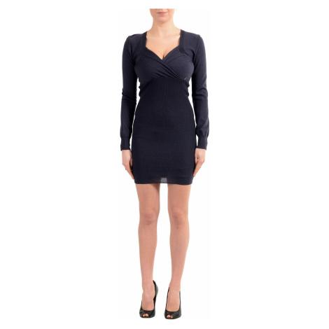 Černé vlněné šaty - GALLIANO John Galliano