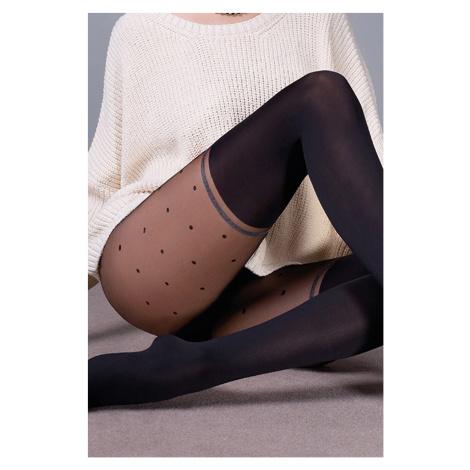 Punčochové kalhoty Sofia černá