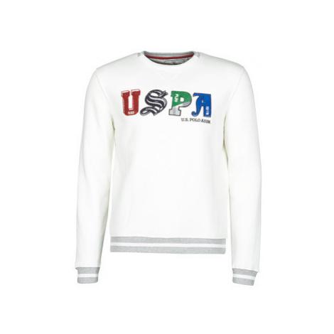U.S Polo Assn. ANSON FLEECE Bílá U.S. Polo Assn