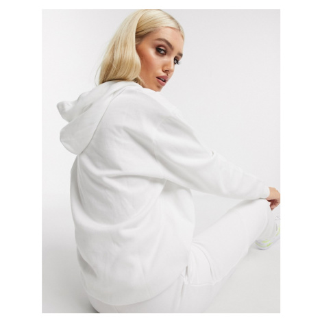 Missguided hoodie in white