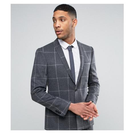 Noak Slim Suit Jacket With Square Hem