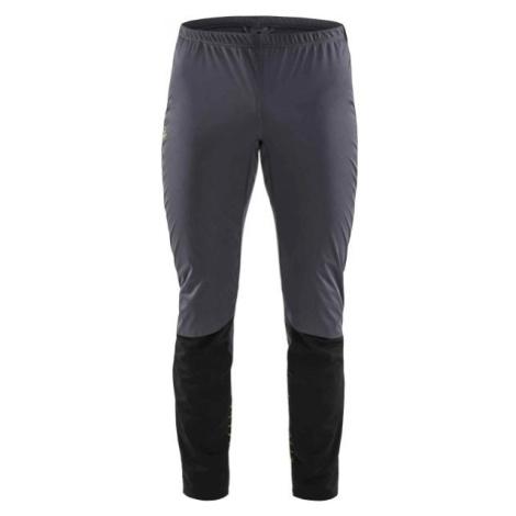 Craft STORM BALANCE šedá - Pánské funkční kalhoty na běžecké lyžování