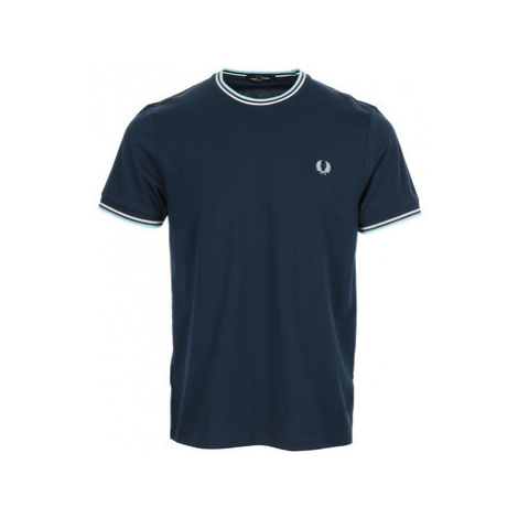 Fred Perry Twin Tipped T-Shirt Modrá