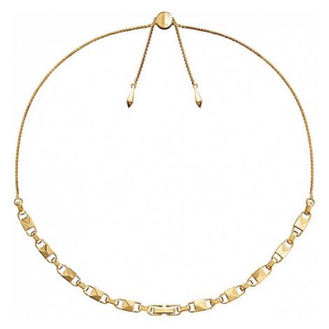 Michael Kors Pozlacený stříbrný náhrdelník MKC1018AA710