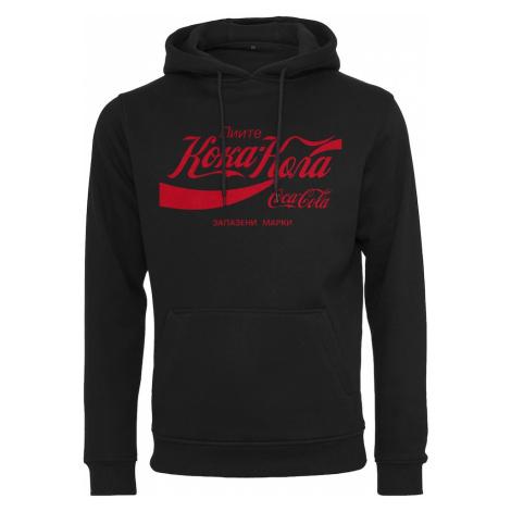 Mister Tee Mikina 'Coca Cola Rus' červená / černá