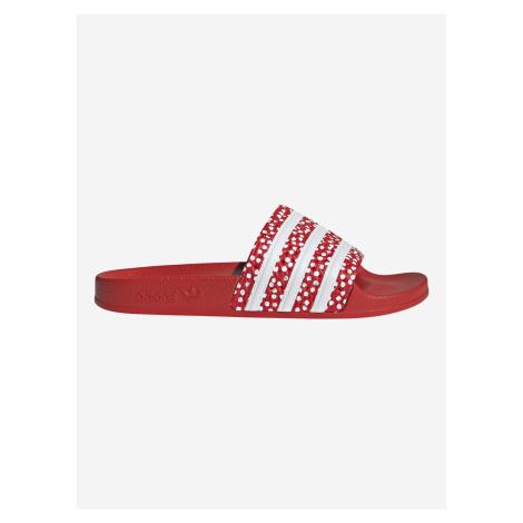 Adilette Pantofle adidas Originals Červená