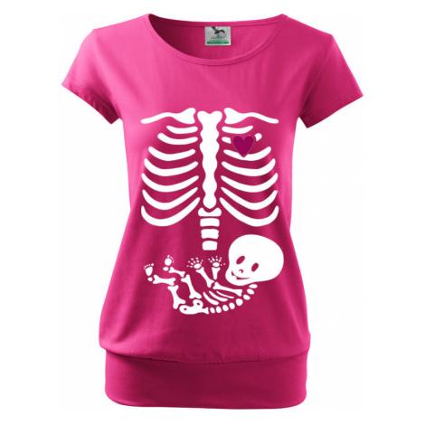 Vtipné tričko s potiskem pro budoucí maminky Kostřička BezvaTriko