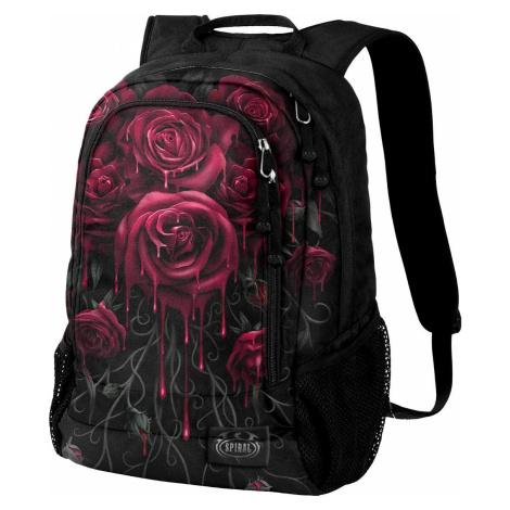 Spiral Blood Rose Batoh černá