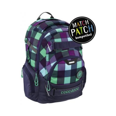 Školní batoh Coocazoo CarryLarry2, Green Purple District