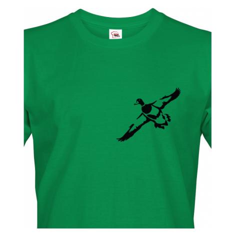 Tričko pro myslivce s kachnou - dárek na narozeniny nebo Vánoce BezvaTriko