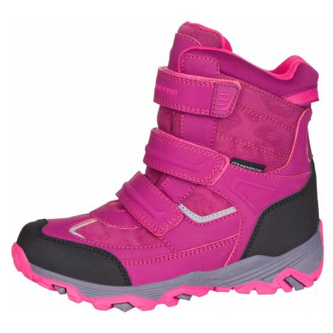 Dětská zimní obuv Alpine Pro ACACIO - fialová