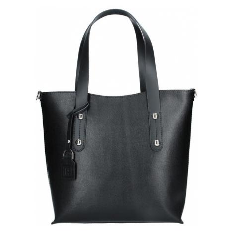 dc85b96071 -10 % Dámská kožená kabelka Facebag Nina - černá