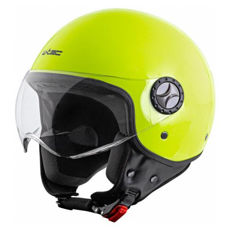 Helma Na Skútr W-Tec Fs-701Fy Fluo Yellow Fluo Zelená