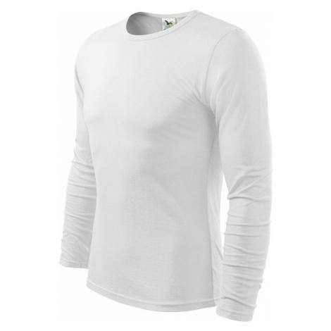 Malfini FIT-T Long Sleeve Pánské triko 11900 bílá