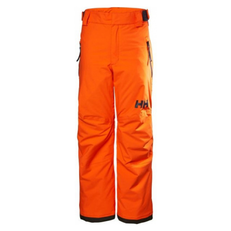 Helly Hansen JR LEGENDARY PANT oranžová - Dětské lyžařské kalhoty