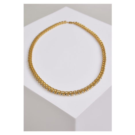 Necklace With Stones - gold Urban Classics