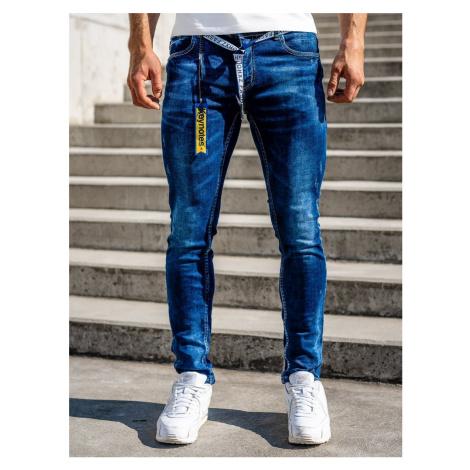 Tmavě modré pánské džíny regular fit Bolf 80023W0