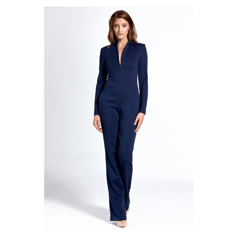 Nife Woman's Overall KM20 Navy Blue