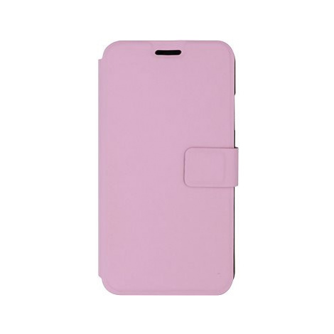 iWill Book PU Leather Case pro Apple iPhone Xr Pink