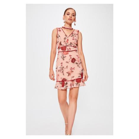 Trendyol dlouhé dámské šaty s květinovým potiskem