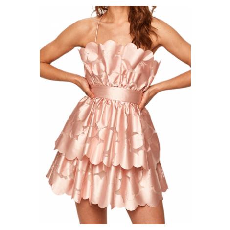 Růžové společenské šaty - PINKO