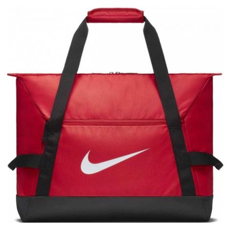 Nike ACADEMY TEAM M DUFF červená - Fotbalová taška