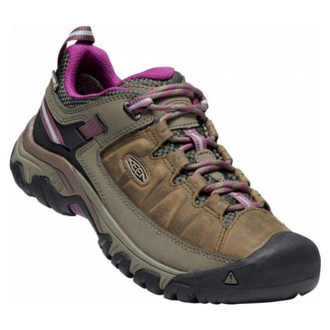 Dámské boty KEEN Targhee III WP W weiss/boysenberry UK