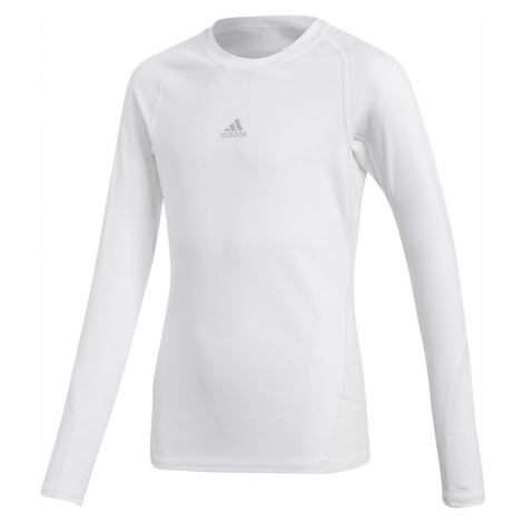 Dětské funkční tričko adidas AlphaSkin Bílá