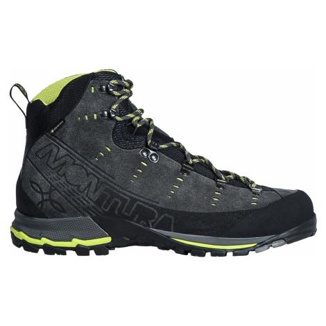 Pánská obuv Montura Altura GTX Dark Grey - Lime Green