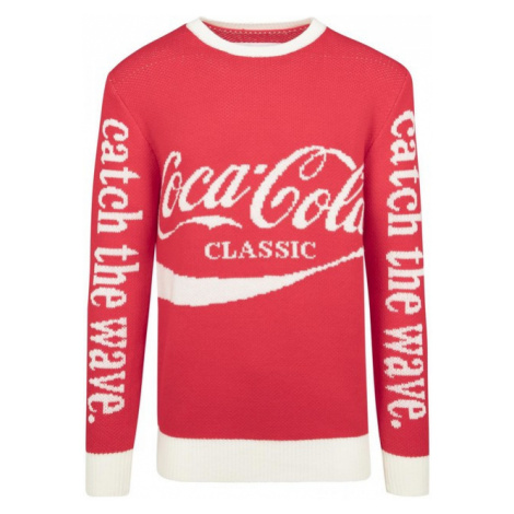 Mr. Tee Coca Cola Xmas Sweater red