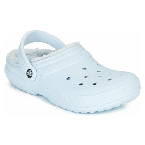 Crocs CLASSIC LINED CLOG Modrá