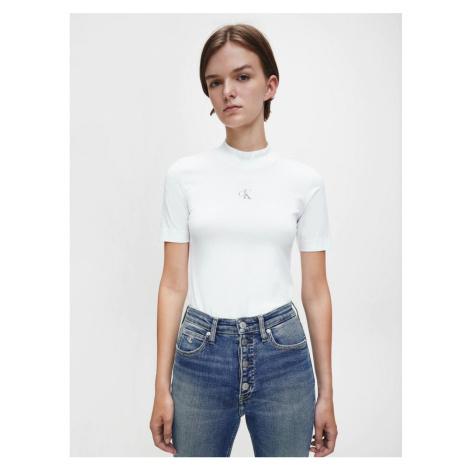 Calvin Klein dámské bílé tričko