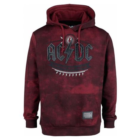 AC/DC EMP Signature Collection Mikina s kapucí tmavě červená