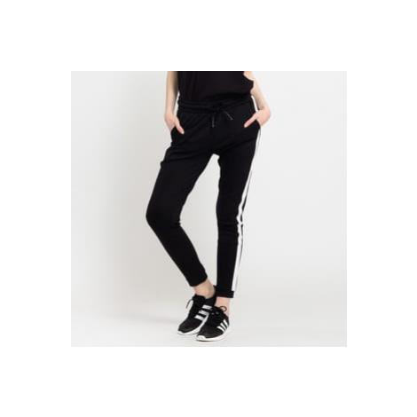 Urban Classics Ladies Interlock Jogpants černé / bílé