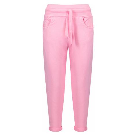 Kalhoty Deha HYPE růžová