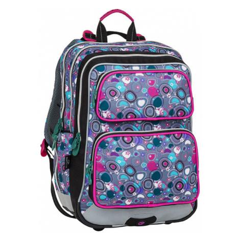 Dívčí školní batohy pro prvňáčky Bagmaster GALAXY 8 A