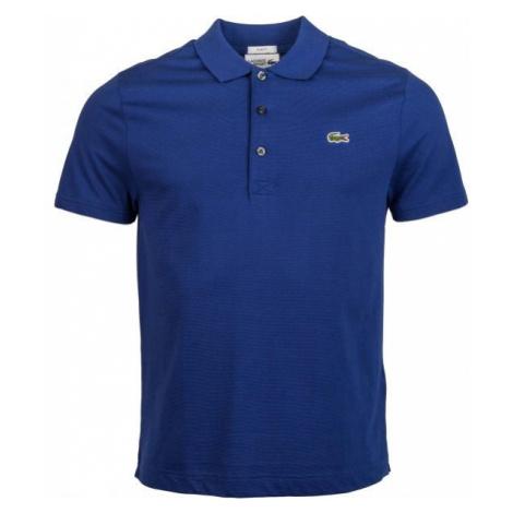 Lacoste MEN S S/S POLO tmavě modrá - Pánské polo tričko