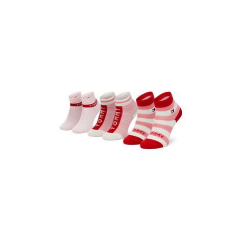 Sada 3 párů dětských nízkých ponožek Tommy Hilfiger