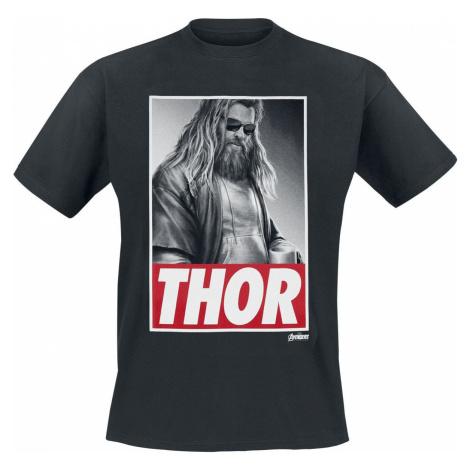 Avengers Endgame - Thor Tričko černá