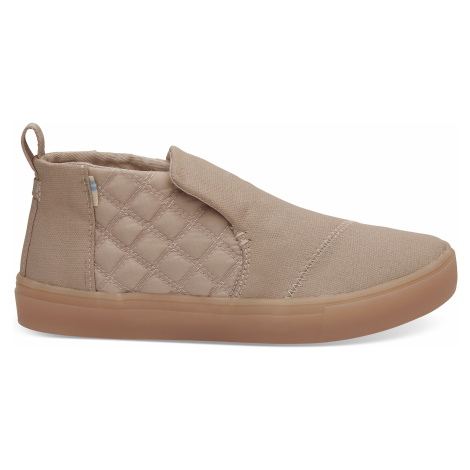 Dark blush quilted women's paxton slip-ons Toms