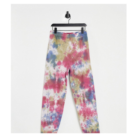 COLLUSION Unisex oversized joggers in multi colour tie dye