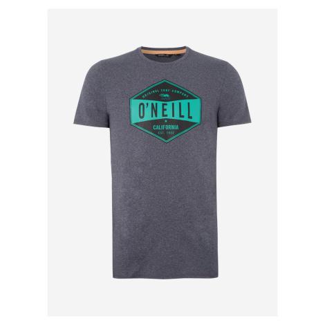 Tričko O'Neill Pm Surf Company Hybrid T-Shirt Šedá