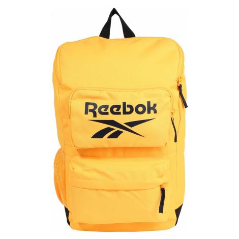 Reebok Sport Sportovní batoh žlutá / černá