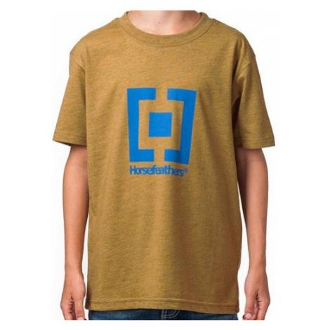 Dětské tričko Horsefeathers New Base Kids heather sand
