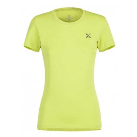 Montura dámské tričko M+, žlutá